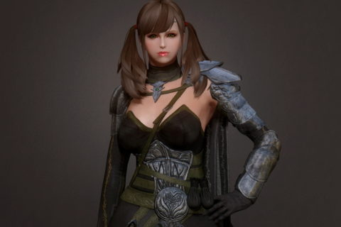 【Skyrim】ESO Altmer Armor (SMP)