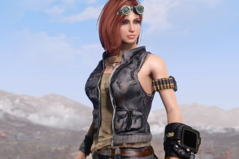 【Fallout 4】Tough Traveller Outfit version 2.0