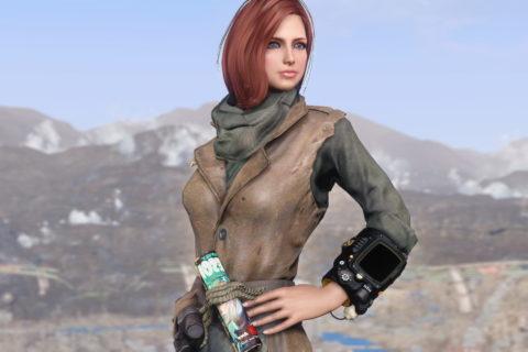 【Fallout 4】MacCready Armor Redone