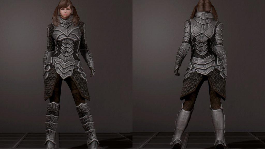dragon carved armor
