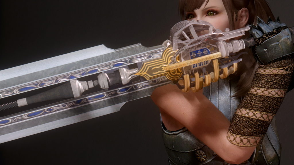 Skyrim】Great sword ffxv – TRE-MAGA
