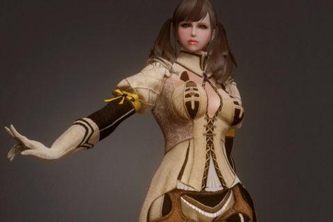 【Skyrim】Oblivion Blanca Outfit
