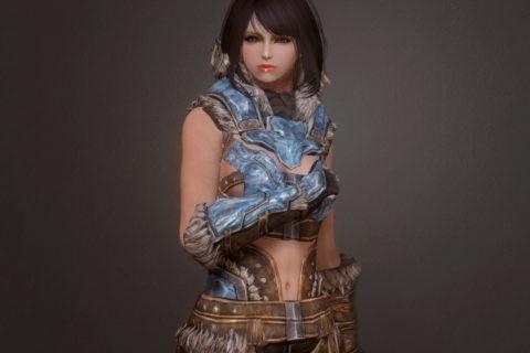 【Skyrim SE】Justice Stalhrim Armor