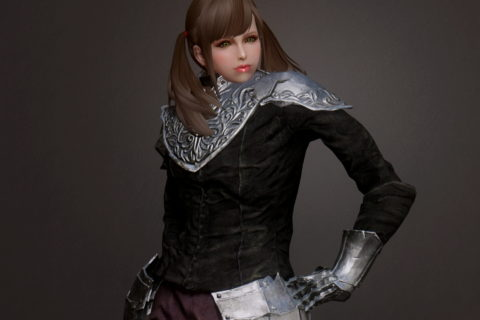 【Skyrim】DS Black Set (Yuria's Set)