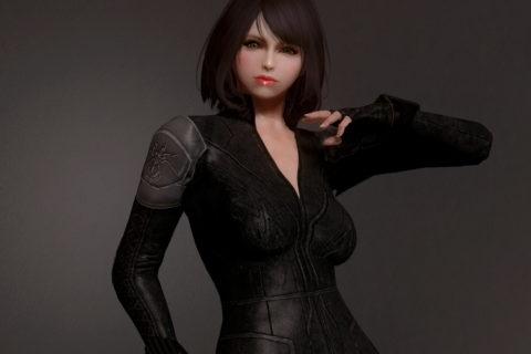 【Skyrim SE】Black WIdow Suit