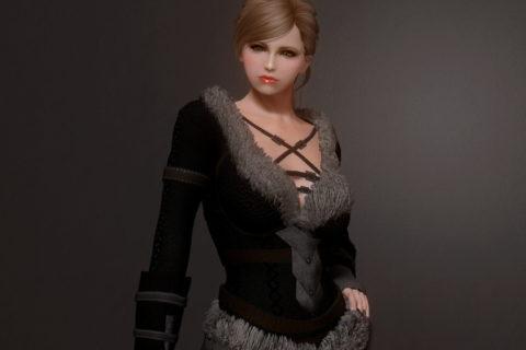 【Skyrim SE】Leatherbound Huntress Heckin FUWA