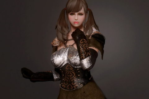 【Skyrim】Linxuan Blackwater_Guild_Outfit